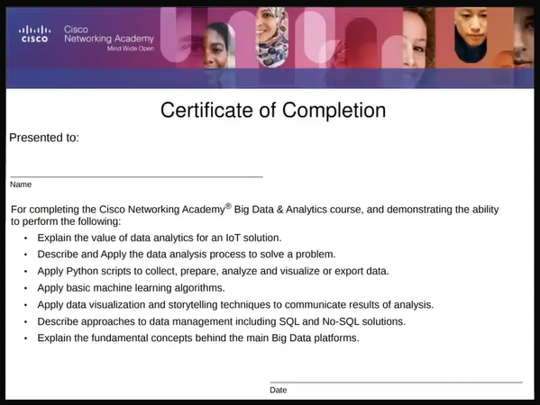 Cisco Networking Academy and Women in Big Data Partnership: Big Data